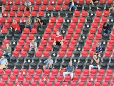 GA Eagles betreurt onnodige lege plekken in stadion tegen Telstar