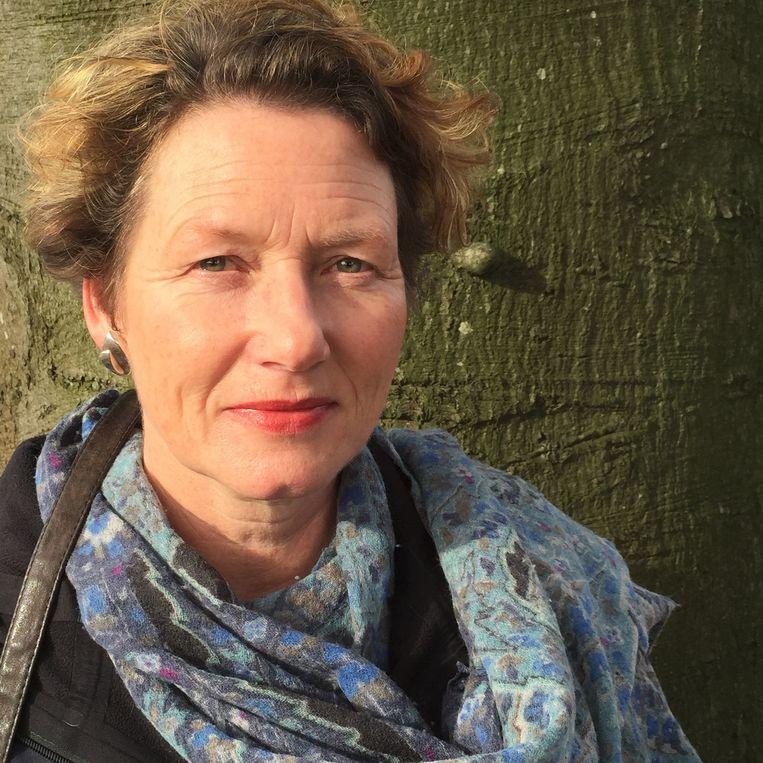 'Ritueelbegeleider' Marian van der Veen. Beeld