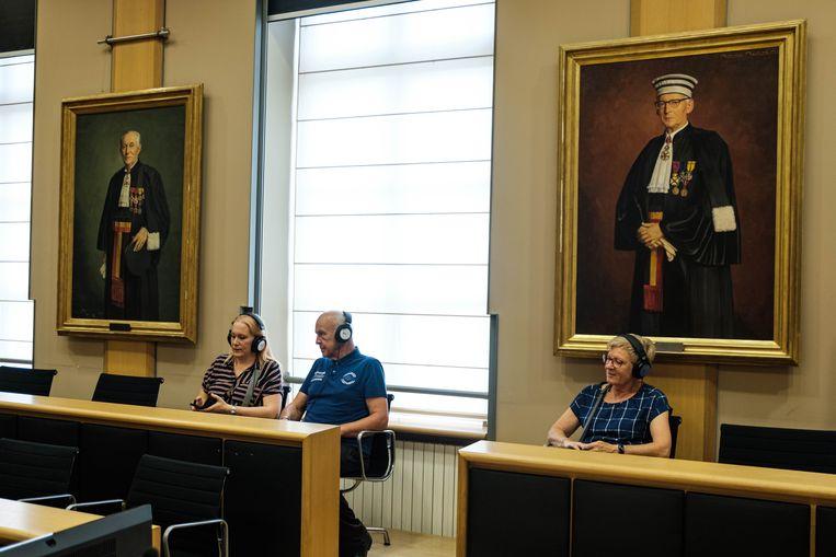 Audiotour door het gerechtshof van Tongeren: op de zetel van de volksjury