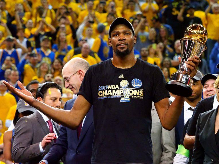 Kevin Durant: MVP in de NBA finale van 2017.