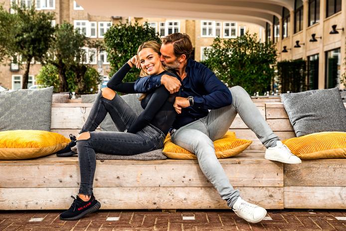 Ronald de Boer met dochter Demi (21)