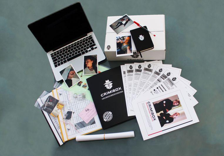 Minstens vier keer per jaar wordt er een nieuwe Crimibox gelanceerd, die 35 euro kost.