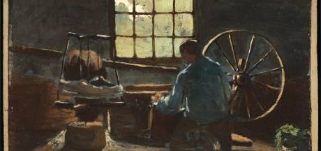 Zit de hand van Van Gogh onder schilderij van Anthon van Rappard dat in Vincentre in Nuenen hangt?