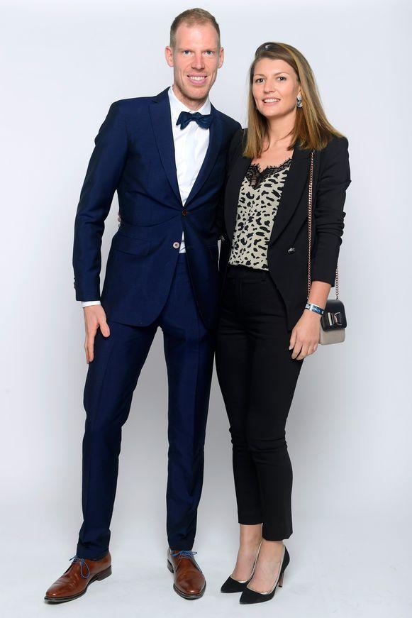 Tim Declercq en partner Tracey Debruyne