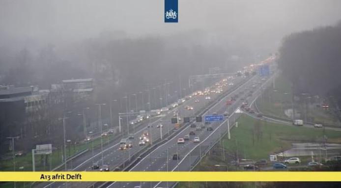 Afrit A13 Even Dicht Door Vele Verkeer Naar De Ikea Delft Adnl