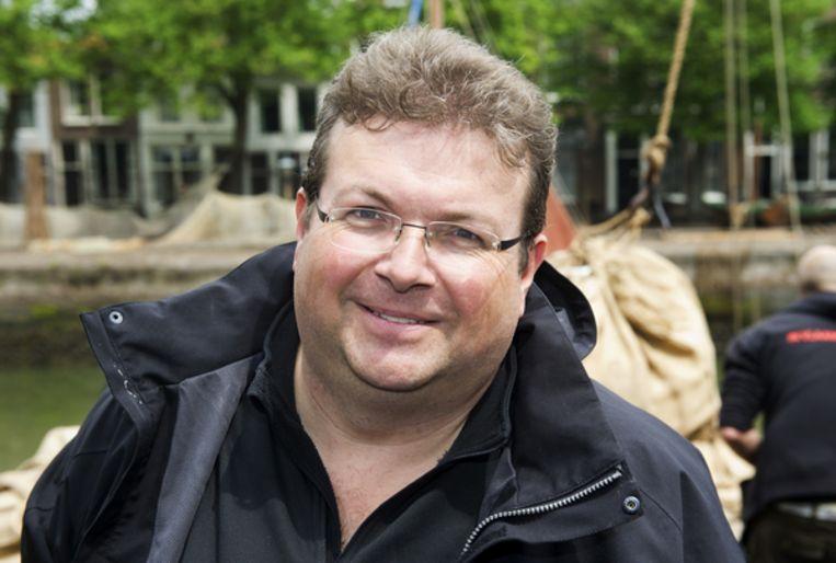 Regisseur Roel Reiné op de set van de speelfilm Michiel de Ruyter. Beeld null