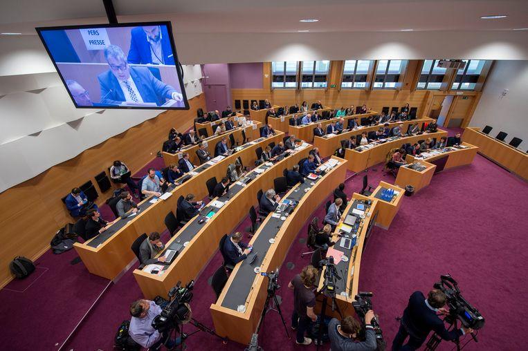 In de Commissie werd er gestemd over de herziening van de Grondwet.