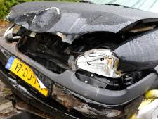 Gewonde en schade door botsing tussen drie auto's in Bunne