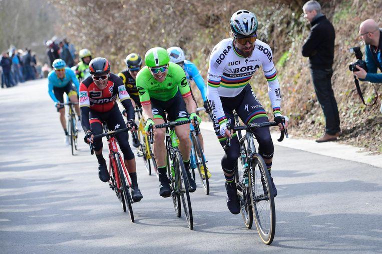 Van Avermaet, Vanmarcke en Sagan. Beeld belga