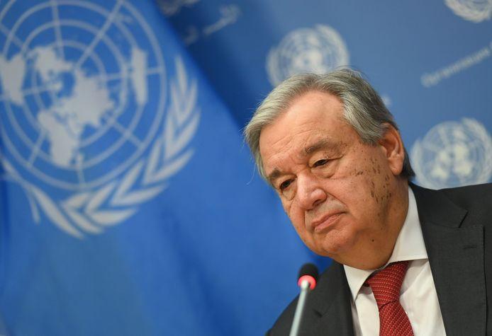 Antonio Guterres, secrétaire général de l'ONU