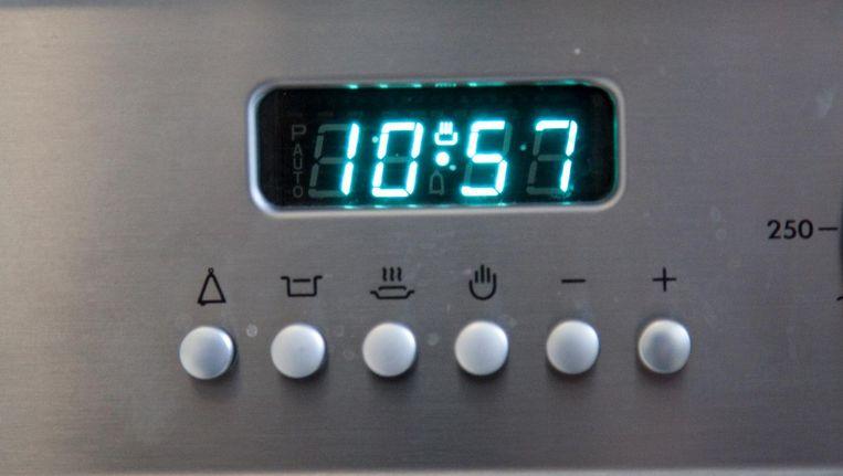 Een ovenklok Beeld Colourbox