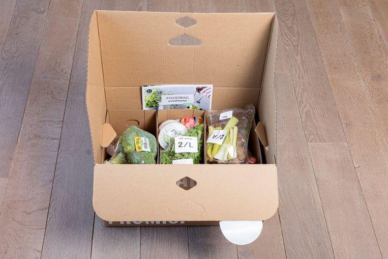 Maaltijdbox van Foodbag