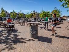 's-Gravenzandse Marktplein klaar voor heropening van de horeca: 'We kunnen aardig wat mensen kwijt'