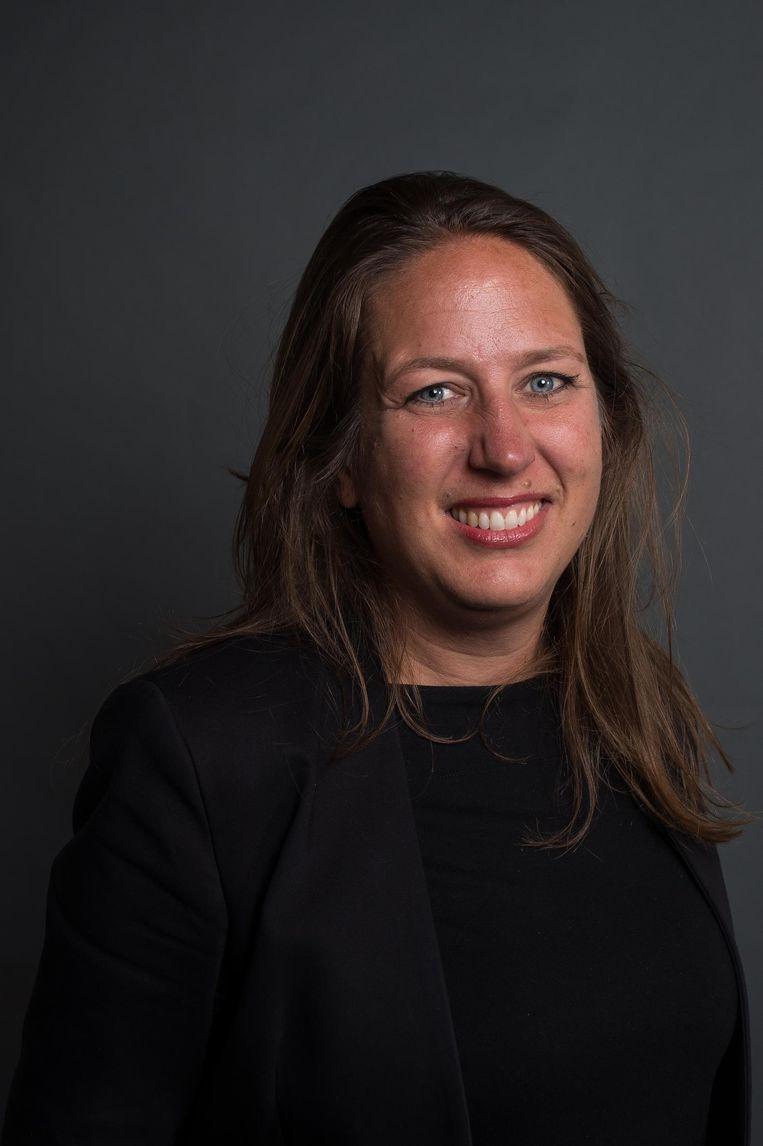 Marjolein Moorman, fractievoorzitter PvdA Amsterdam Beeld Mats van Soolingen