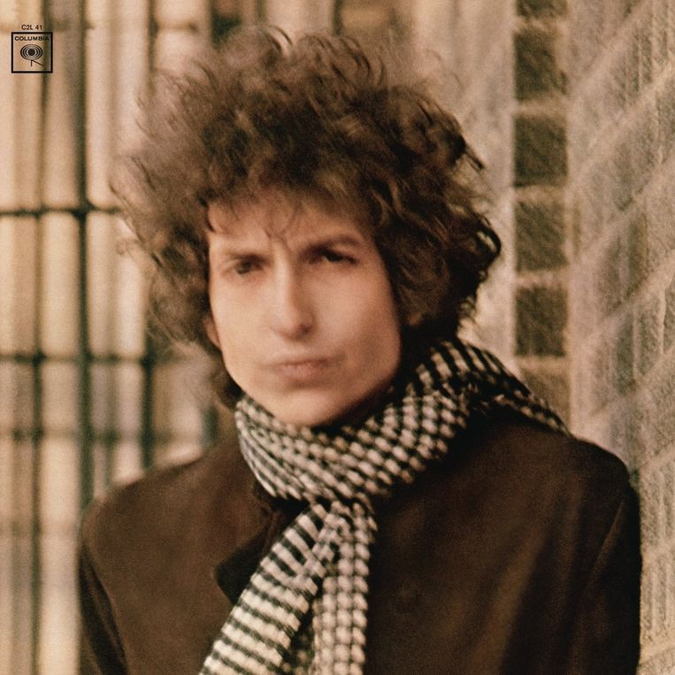 Cover Blonde on Blonde Beeld Colombia Records