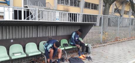 Otschi Wriedt en Driess Saddiki terug op het trainingsveld bij Willem II