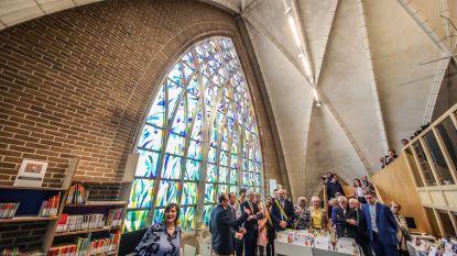Nieuwe bib in en naast kerk is pareltje. Kostprijs: 3,7 miljoen euro