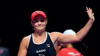 Barty beëindigt 2019 als nummer 1 van de wereld na zege tegen Bencic op WTA Finals