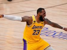 Les Lakers à une victoire du sacre en NBA