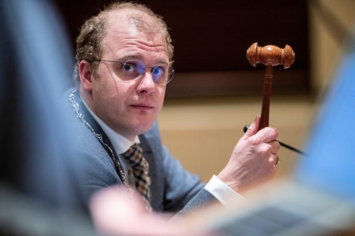 Burgemeester Joris Bengevoord.