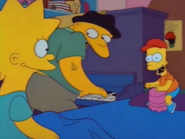 Michael Jackson had een cameo in 'The Simpsons'.