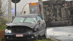 """Bejaarde man (80) overleeft ongeval met tankwagen: """"Mijn engelbewaarder reed duidelijk mee"""""""