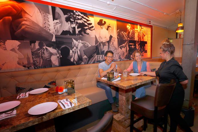 Bij Señora Rosa in Eindhoven komen er verschillende gerechtjes op tafel.