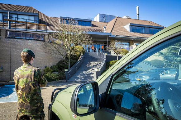 Het leger coördineert mee de voorbereidingswerkzaamheden.