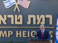 """Netanyahu inaugure sur le Golan occupé une colonie baptisée la """"colline Trump"""""""