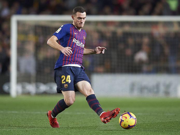 Vermaelen was een vrije speler, nadat Barcelona zijn aflopende contract niet verlengde.