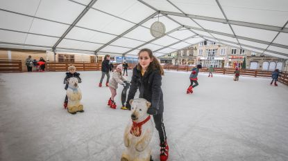Overal sluiten ijspistes, maar in Veurne kan je nog hele week schaatsen