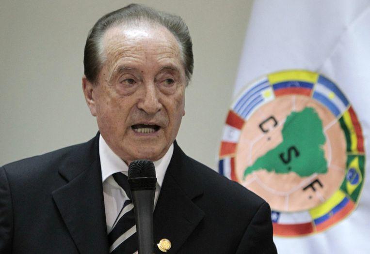 Eugenio Figueredo. Beeld epa