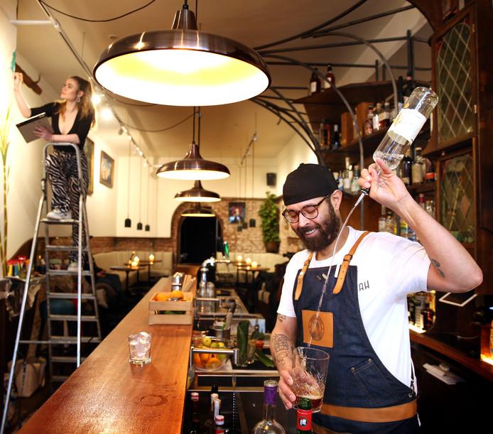 Edward Nijhoff, eigenaar van cocktailbar Rumah.