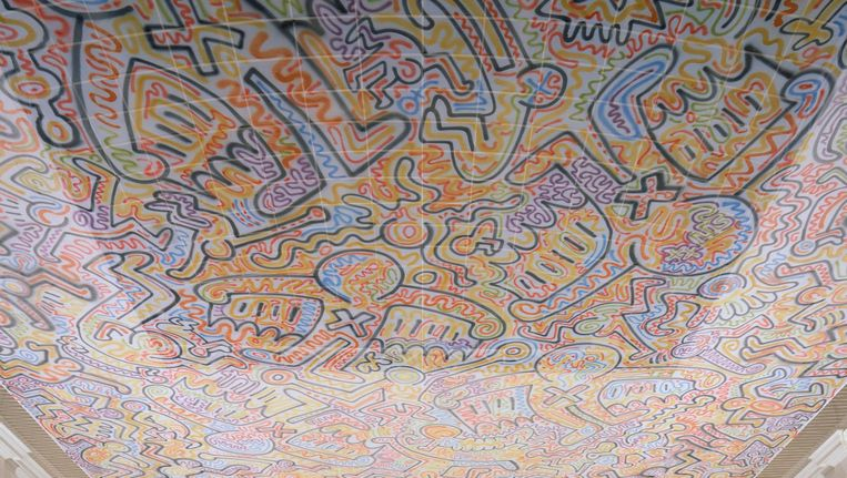 Keith Haring groeide van graffitikunstenaar in het New York van de jaren tachtig uit tot internationaal gevierd beeldend kunstenaar. Beeld Keith Haring Foundation