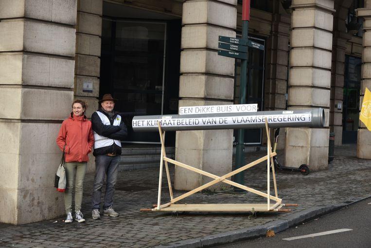 Klimaatoptocht Brussel