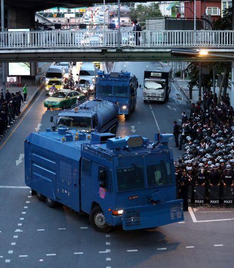 Thaise regering treedt hard op tegen protesten