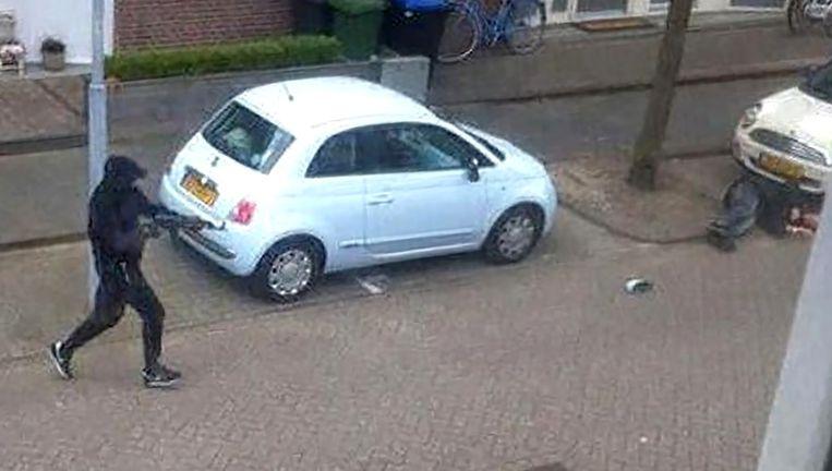 Beelden van de liquidatie van Lucas Boom in Zaandam. Beeld -