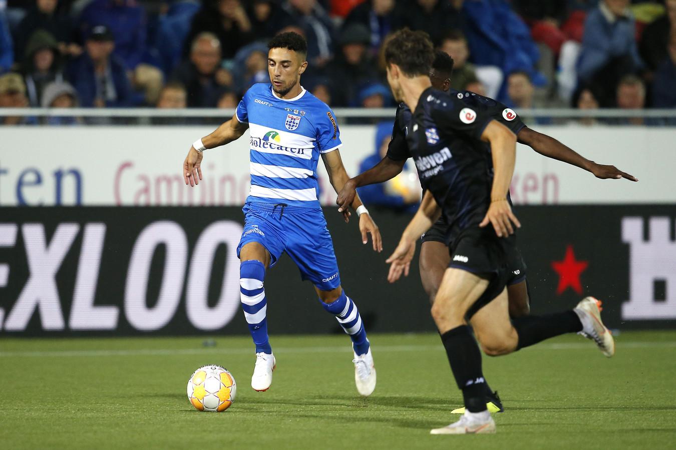 PEC Zwolle-speler Younes Namli treft donderdag zijn voormalige club Heerenveen in een oefenduel.