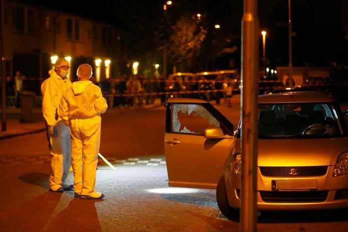 Fouad Rashidi werd door het raam van zijn auto vijf maal door zijn hoofd geschoten in de Eindhovense Sionstraat.