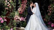 Zo werd de Dior-trouwjurk van Miranda Kerr gemaakt