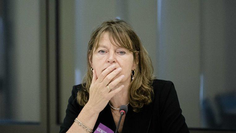 Kinderombudsman Margrite Kalvenboer, hier in de Tweede Kamer Beeld ANP