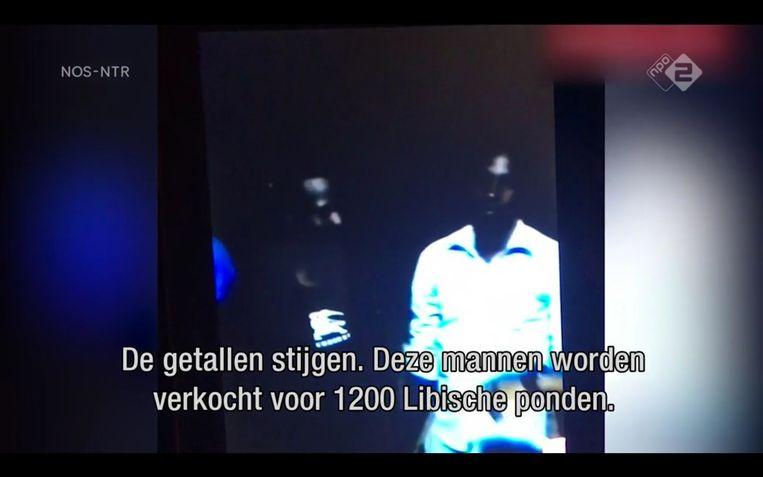 'Grote sterke jongens. Voor werk op het land', zegt de handelaar in het filmpje. Beeld Maaike Bos
