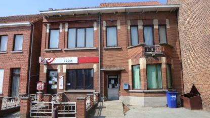 Postkantoor tijdelijk gesloten door ingezakt dak