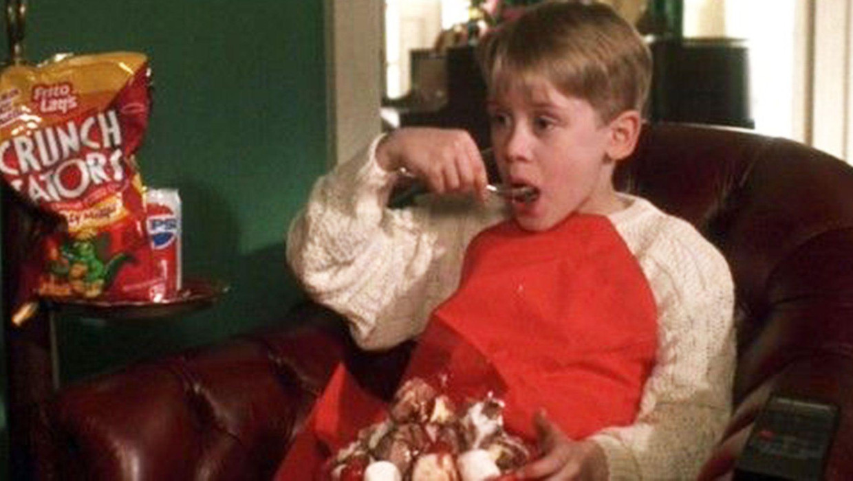 Lekker alleen thuis met Kerst: heerlijk.