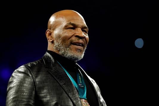 Mike Tyson begin dit jaar.