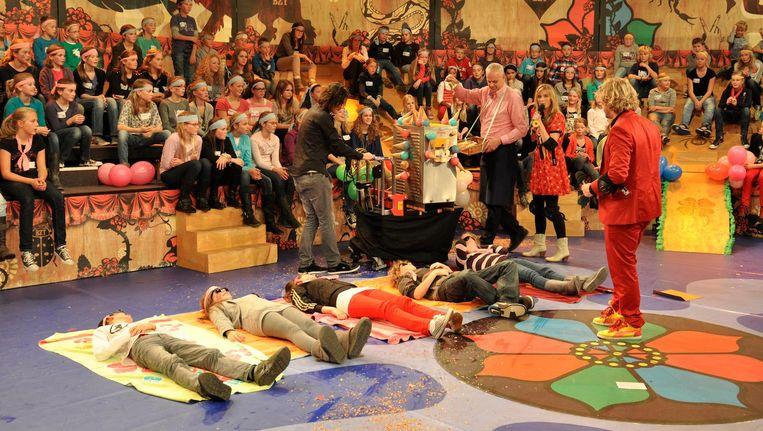 Toen de show in 2011 vijf jaar bestond, werd dat groots gevierd Beeld Laura Bausch/BZT Show
