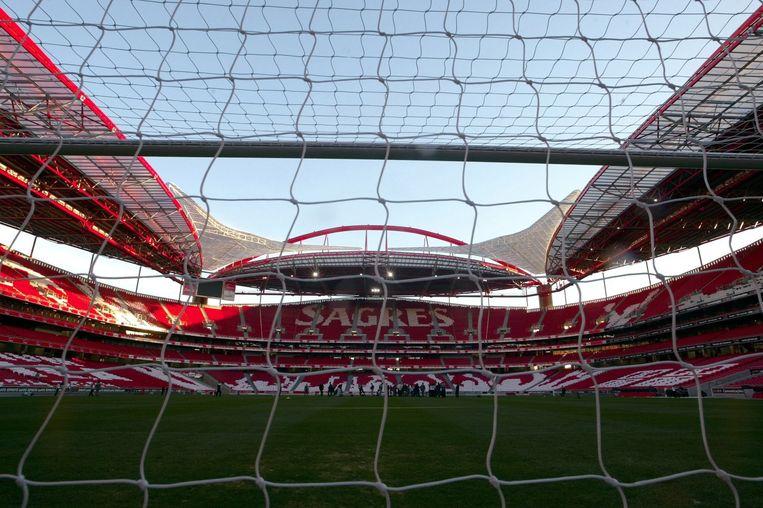 Het stadion van Benfica.
