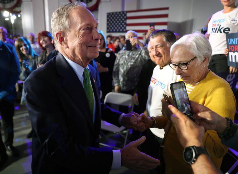 Michael Bloomberg hoopt uiteindelijk de Democratische nominatie te kunnen binnenhalen.