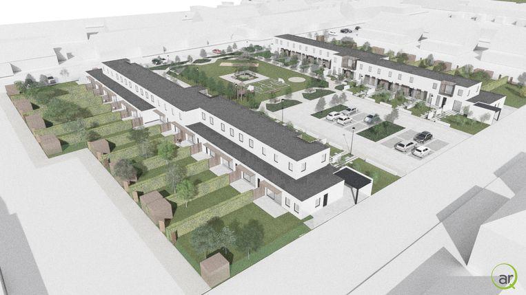 Het project Uco Nieuwe Zijde in Petegem.