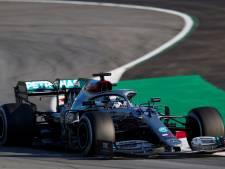 Hamilton et Bottas déjà dans le rythme